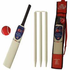 Young American Cricket Gift Set for Kids - Bat, Ball & Stumps in Carrying Bag