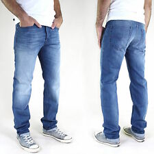 New DIESEL men's Slim Fit JEANS Trousers BUSTER Tapered Straight All Sizes