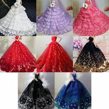 Doll Accessories Dress Clothes Wedding Gown For Barbie doll best christmas gift
