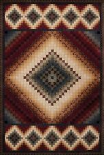 United Weavers Donna Sharp Spice Postage Stamp Country Soft Polyproplene Rug