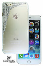 Scatter Back Case Cover For 5.5 iPhone 6/6s Plus made W Swarovski Clear Crystal