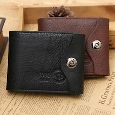 Fashion Men Wallets Famous Brand New PU Leather Wallet Hasp Design Wallets