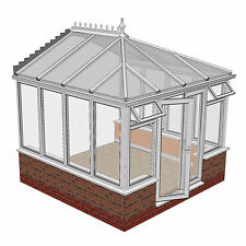 uPVC Conservatory 3m x 3m Made to Measure Conservatories **NEW**