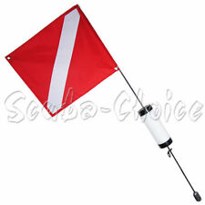 Scuba Choice Scuba Diving Spearfishing Free Dive Flag with Weight Float, 4'