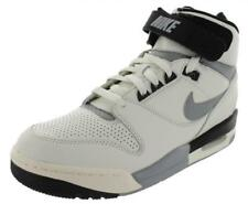 NIKE MENS TRAINERS, SHOES, AIR REVOLUTION VINTAGE QS LEATHER UK 7 to 8 WHITE