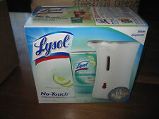 2 x Lysol No Touch Soothing Cucumber Antibacterial Hand Soap With Dispenser