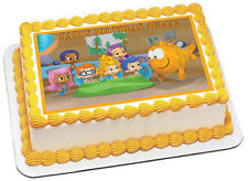 Bubble Guppies 1 Edible Birthday Cake Topper OR Cupcake Topper, Decor