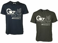 MENS TSHIRT GIO-GOI IN VARIETY OF TWO COLOURS CHARCOAL & DRESS BLUE RRP £24.99