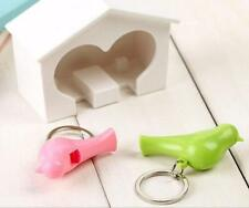 Birdhouse 1 Pcs Wall Lover Gadget Key Ring Home Sparrow New Holder Hook Keychain