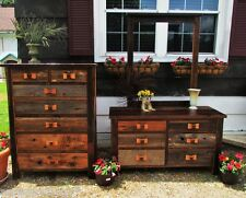 Amish-Built Barn Wood 7-piece Bedroom Set, Amish Furniture, Amish Furniture