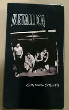 METALLICA CUNNING STUNTS VHS CASSETTE 1998 RUNNING TIME 140 MINUTES *USED*