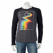 "Pink Floyd ""Dark Side"" Vintage Classic Long Raglan Sleeve T-Shirt S & M Licensed"