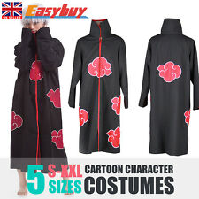Anime NARUTO Uchiha Itachi Cosplay Costume Akatsuki Ninja Wind Coat Cloak New