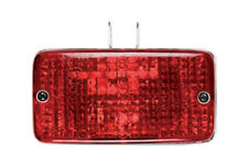 Universal Rectangular Car Rear Red Fog / Safety Lamp - Small