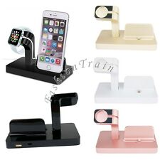 Stand Bracket Charging Dock Station Charger Holder for Apple Watch iWatch iPhone