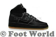 Mens Nike Air Force 1 High '07 - 315121 028 - Black White Trainers