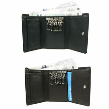 Mens Womens Luxury Leather Key Case Holder Credit Card Wallet Cash Holder 0122