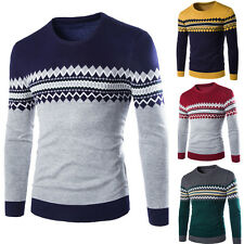 Fashion Men Casual Slim Fit  Knit Cardigan Pullover Jumpers Sweater Tops Coat