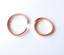 Pure  Solid Copper Torque Magnetic FINGER RING  ARTHRITIS PAIN RELIEF
