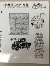 STAMPERS ANONYMOUS, TIM HOLTZ, STAMP SETS, USED