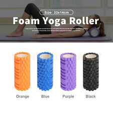 Hot sale EVA Grid Foam Roller Physio Pilates Yoga Exercise Trigger Point 33cm