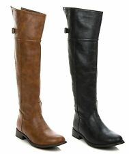 New Breckelle's Women Over The Knee Thigh High Riding Boot RIDER-82