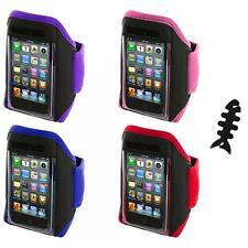 Gym Sports Armband Case Cover+Cable Wrap for iPod Touch 4th 3rd 2nd Gen 4G 3G