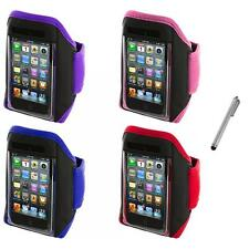 Gym Sports Armband Case Cover+Metal Pen for iPod Touch 4th 3rd 2nd Gen 4G 3G