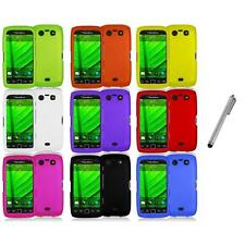 Color Hard Rubberized Case Cover+Metal Pen for Blackberry Torch 9850 9860