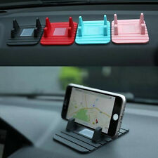 GPS Car Dashboard Anti Slip Mat Mobile Phone Holder Desktop Stand Soft Silicone
