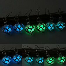 Glow in the Dark Steampunk Earrings Luminous Dangle Hook Women Wedding Jewelry