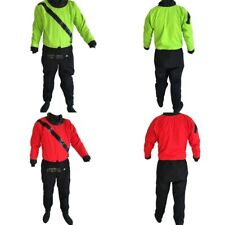 Shakoo Front Entry Kayak Drysuits M/L/XL Paddling Drysuits with Front Relief Zip