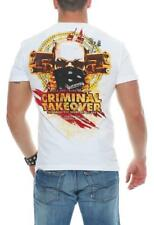 Mafia & Crime men's T-Shirt Short sleeve shirt Shirt MC CRIMINAL TAKEOVER