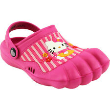 Hello Kitty Kids Pink Silly Feet Clogs Shoes 01070 11/12 13/1 2/3