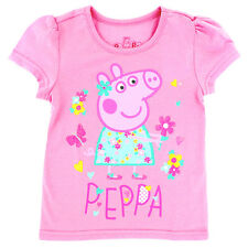 Peppa Pig Toddler Girls Short Sleeve Tee PPST206 2T 3T 4T