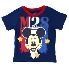 Disney Mickey Mouse Baby Boys Short Sleeve Tee T-Shirt Top 4YM4770 12M 18M 24M