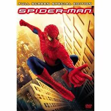 Spider-Man (DVD, 2002, 2-Disc Set, Special Edition Full Frame) Brand New