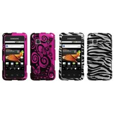 For Samsung Galaxy Prevail M820 Design Snap-On Hard Case Phone Skin Cover