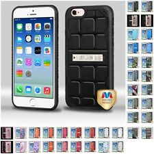 For Apple iPhone 6/6S [4.7] Hard TPU Hybrid Shockproof Armor Case Cover