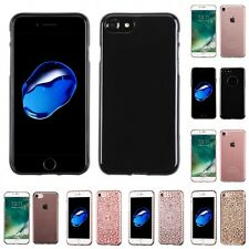For Apple iPhone 7 [4.7] TPU Rubber Skin Flexible Case Phone Cover