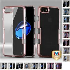 For Apple iPhone 7 [4.7] 2-Piece TPU Hard Fusion Case Bumper Phone Cover