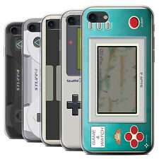 STUFF4 Gel/TPU Case/Cover for Apple iPhone 7/Games Console