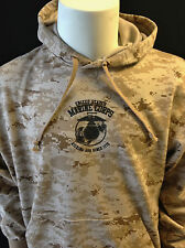 US Marine Corps HOODY Kicking Ass Since 1775 Desert Digital Camo MARPAT EGA USMC