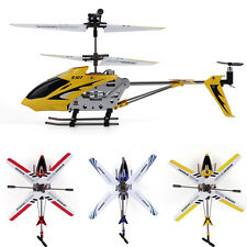 New Syma S107G 3 Channel RC Remote Control Flashing Helicopter Gyro 15M Aluminum