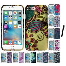 For Apple iPhone 7 Snap-On Design Rubberized Hard Phone Case Cover Stylus Pen