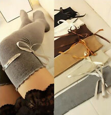 1 Pair Fashion Socks Lady Thigh High Autumn Stocking Women Girl Over The Knee