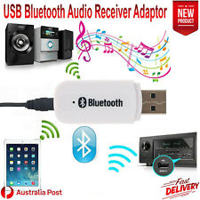 3.5mm AUX Car USB Wireless Bluetooth Stereo Receiver Adapter Audio Music Speaker