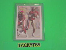 STEVE YOUNG (49ers) PERFORMANCE HIGHLIGHTS  1993 FLEER SINGLE CARD(S)  NRMT-MT