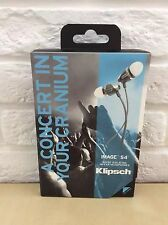 The New Klipsch Image S4 II Black or White 2 colors In-Ear Headphones