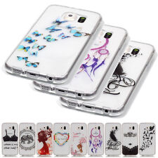 New Ultra thin Skin Transparent Soft TPU Back Case Cover For Samsung iPhone